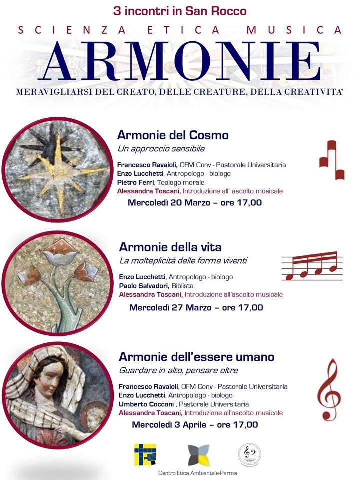 Armonie - Ciclo di incontri nella Chiesa di San Rocco in Parma