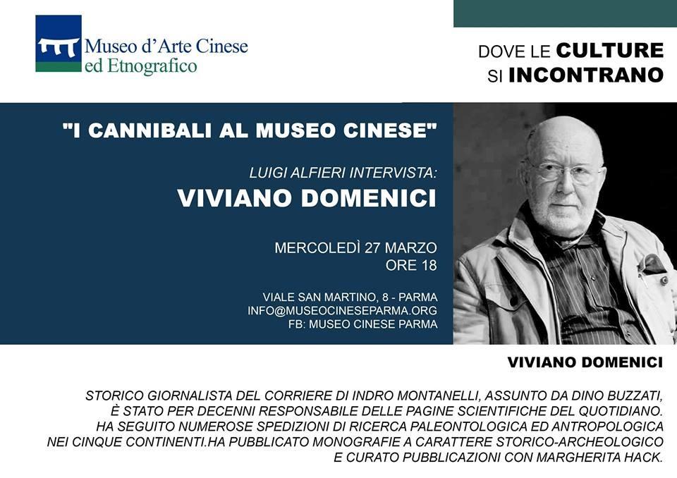 I cannibali al Museo Cinese  con Viviano Domenici