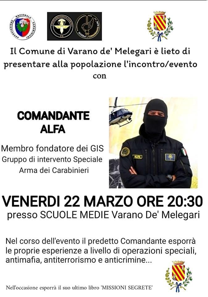 Incontro con il Comandante Alfa a Varano