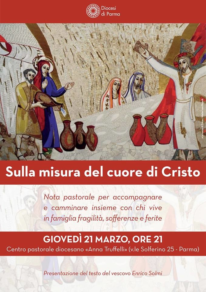 """""""Sulla misura del cuore di Cristo"""" Nota pastorale del Vescovo"""