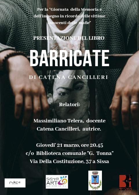 Presentazione del libro BARRICATE