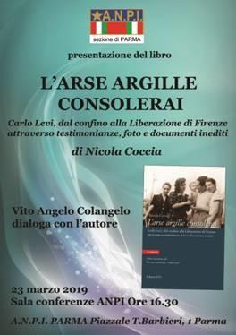 Presentazione del libro di Nicola Coccia su Carlo Levi