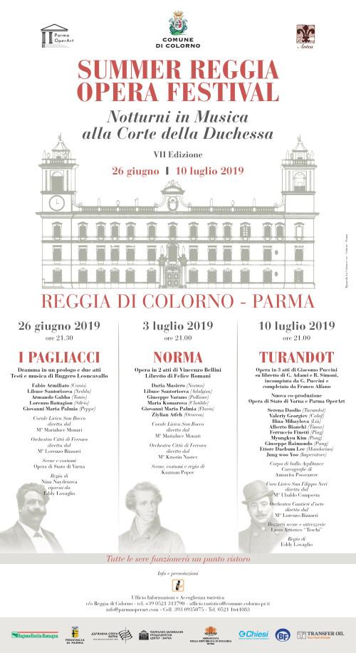 SUMMER REGGIA OPERA FESTIVAL,NOTTURNI IN MUSICA ALLA CORTE DELLA DUCHESSA,VII EDIZIONE