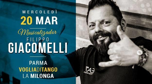 Milonga di Voglia di Tango Tdj Filippo Giacomelli