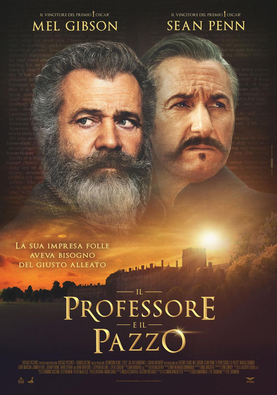Al CINEMA GRAND'ITALIA  IL PROFESSORE E IL PAZZO
