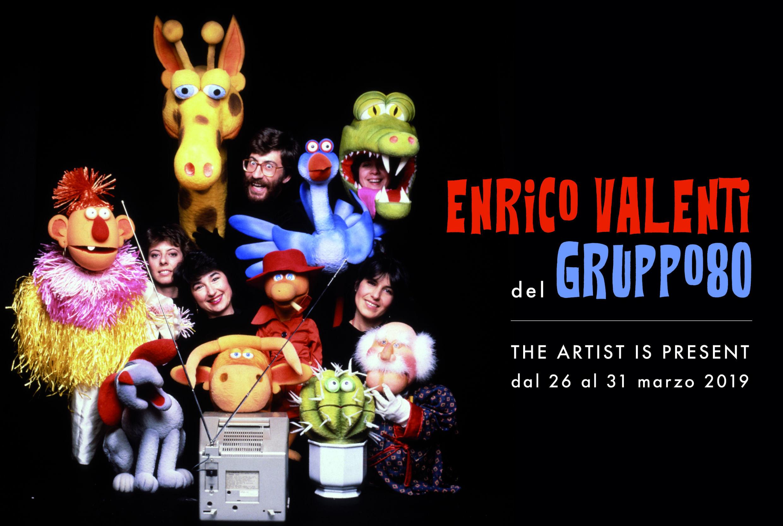 """""""The Artist Is Present""""     Parma ospita dal 26 al 31 marzo la residenza artistica  di Enrico Valenti del Gruppo 80"""
