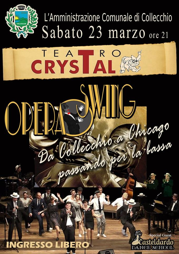 Opera swing al Crystal!