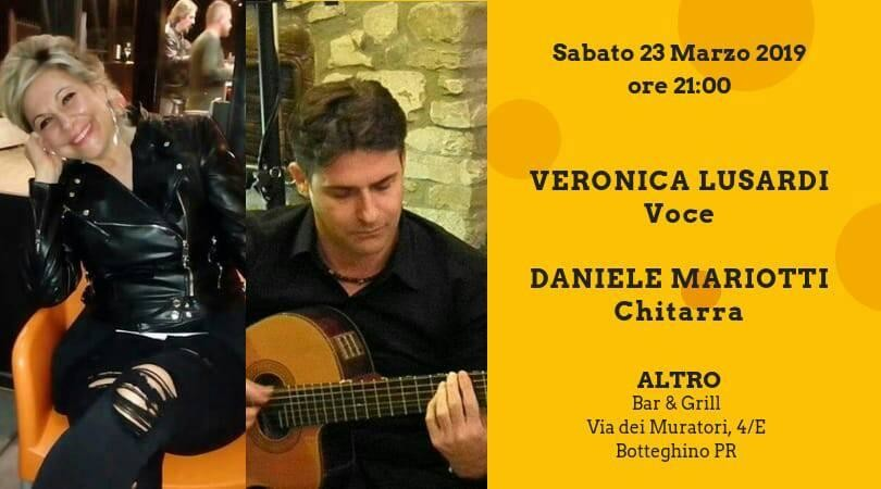 Music and Food all'Altro ristopub con Veronica Lusardi e Daniele Mariotti acoustic duo