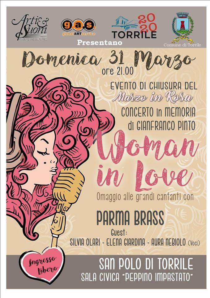 Woman in love con i Parma Brass