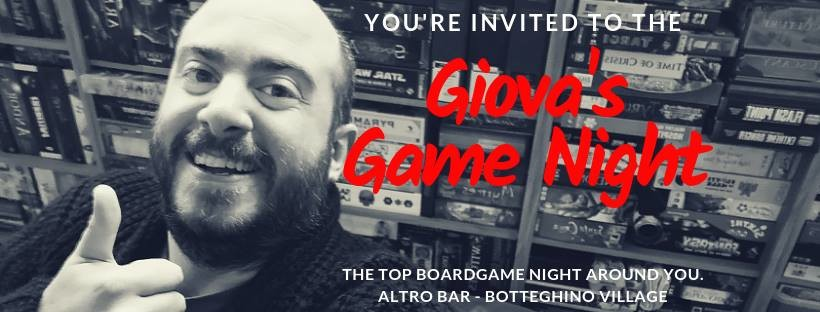 GIOVA'S GAME NIGHT SPECIAL MONDAY al risto-pub Altro