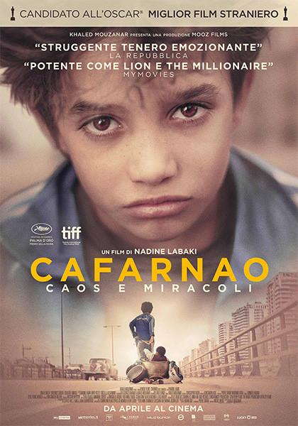 Anteprima:  CAFARNAO  Premio della Giuria al Festival di Cannes al Cinema Astra Parma