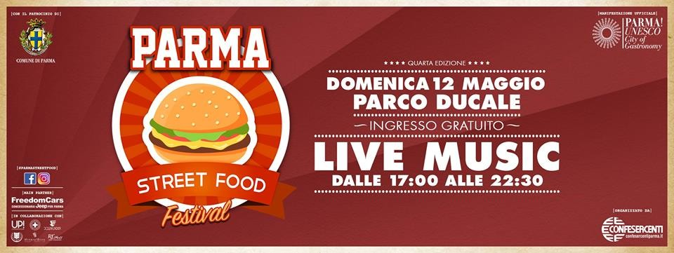PARMA STREET FOOD FESTIVAL 2019 è LIVE!
