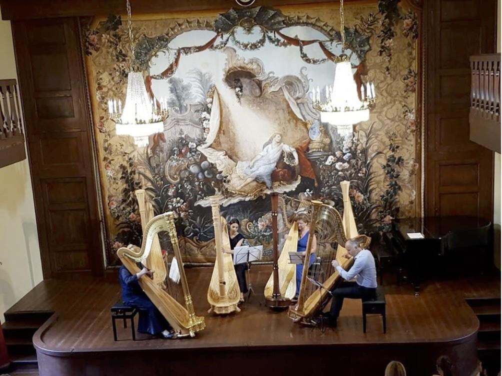 I concerti del Boito  Leonard Harp Quartet