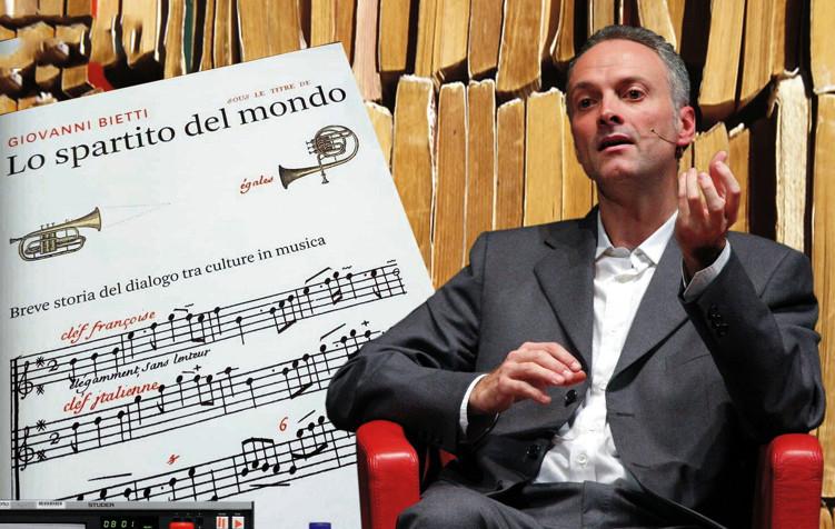Parole da ascoltare  Giovanni Bietti: Lo spartito del mondo