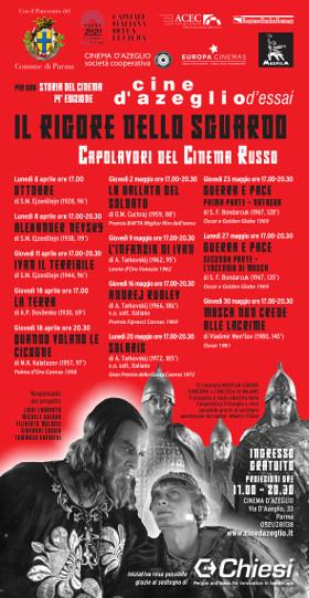"""""""Capolavori del cinema russo""""  OTTOBRE  e ALEXANDER NEVSKY al Cinema D'Azeglio"""