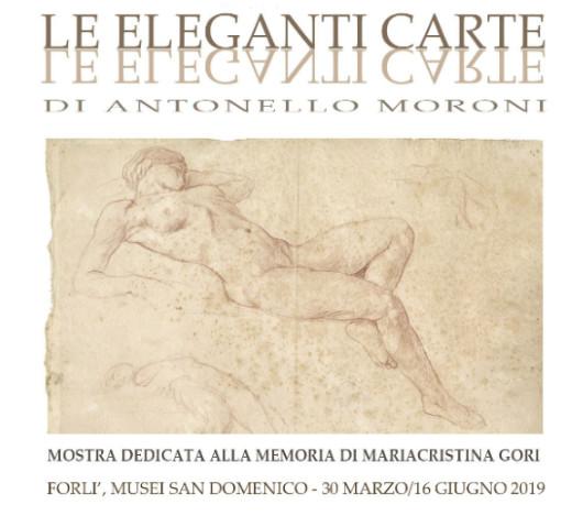 """""""Le eleganti carte di Antonello Moroni""""ai Musei San Domenico di Forlì"""