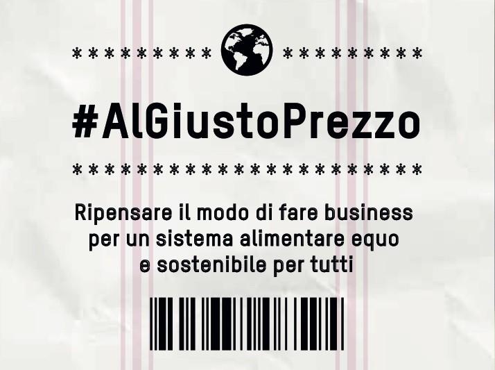 """Seminario """"#AlGiustoPrezzo"""", per un sistema alimentare equo e sostenibile per tutti"""