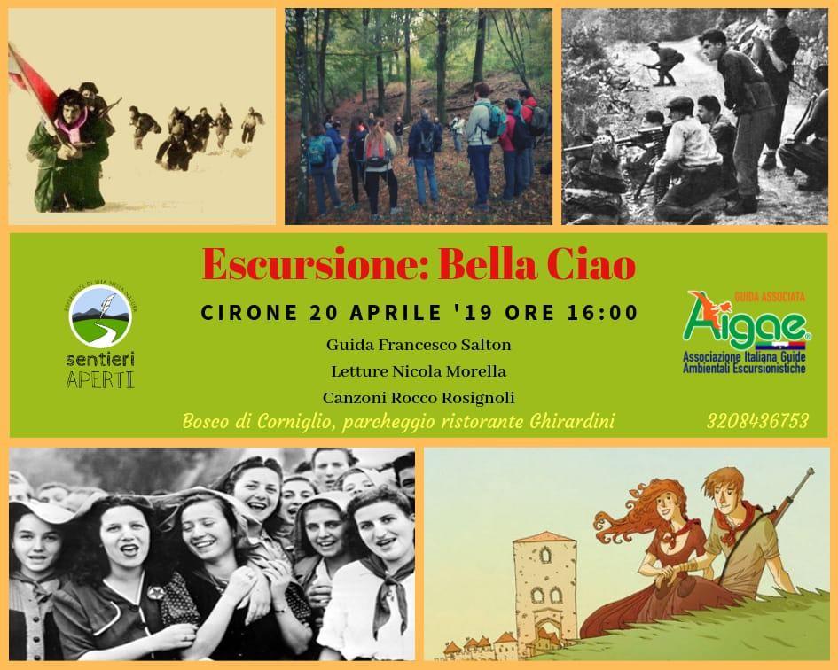 Escursione sul passo del Cirone dal titolo Bella Ciao