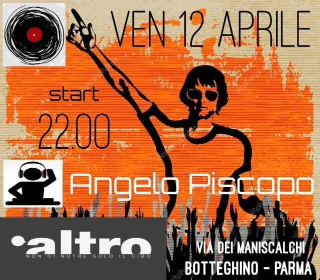 Dj Angelo Piscopo live  al risto-pub Altro