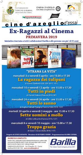 Ex Ragazzi al Cinema:  programma aprile/maggio