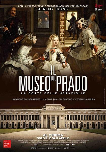 """""""La grande arte al cinema""""  IL MUSEO DEL PRADO-La corte delle meraviglie  con Jeremy Irons al Cinema Astra Parma"""
