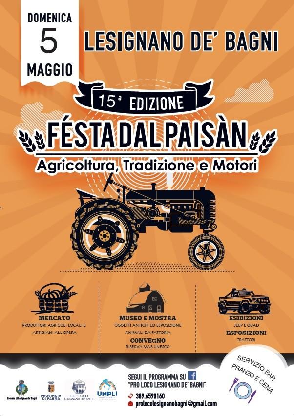 FESTA DAL PAISAN a  LESIGNANO DE' BAGNI