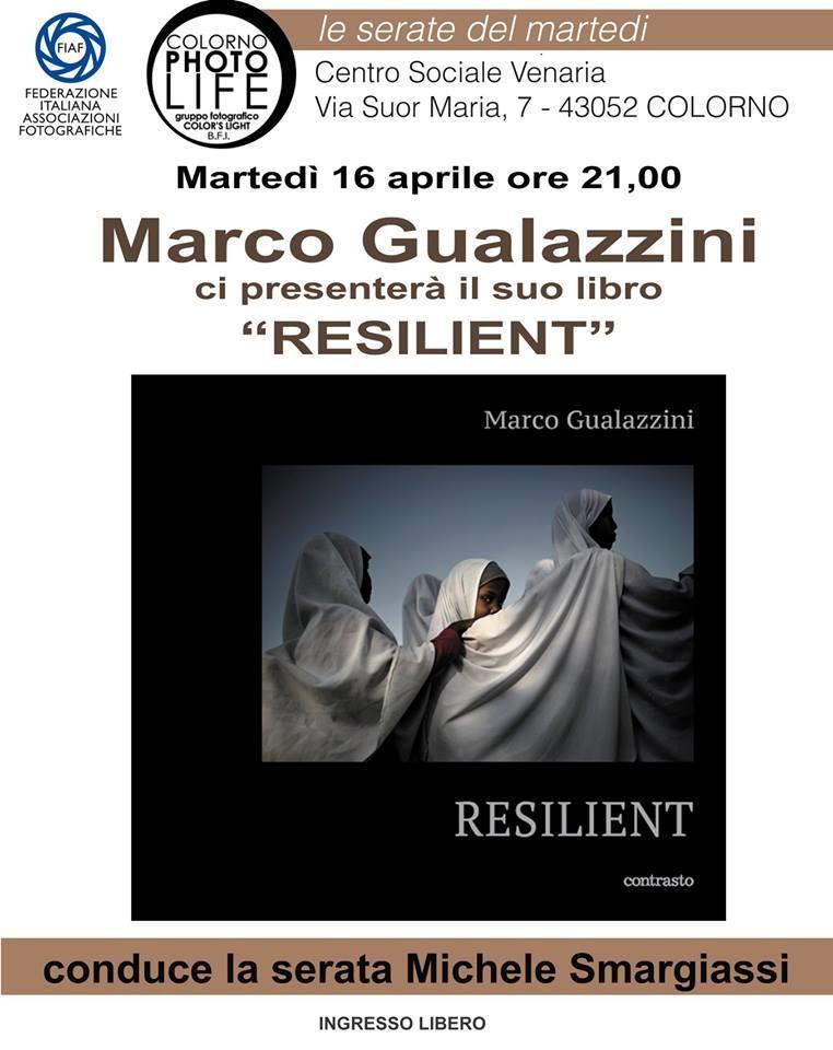 """Marco Gualazzini presenta il suo libro """"RESILIENT"""""""