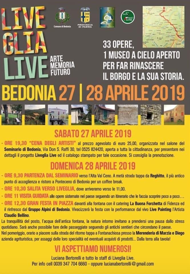 Liveglia live, arte, memoria futuro