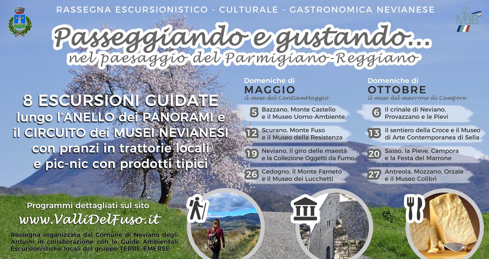"""""""Passeggiando e gustando... nel paesaggio del Parmigiano Reggiano"""""""
