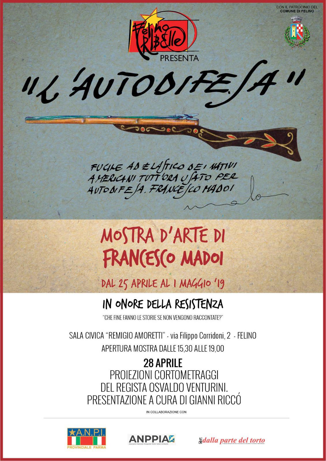 "Mostra artistica ""L'Autodifesa"",  opere di Francesco Madoi"