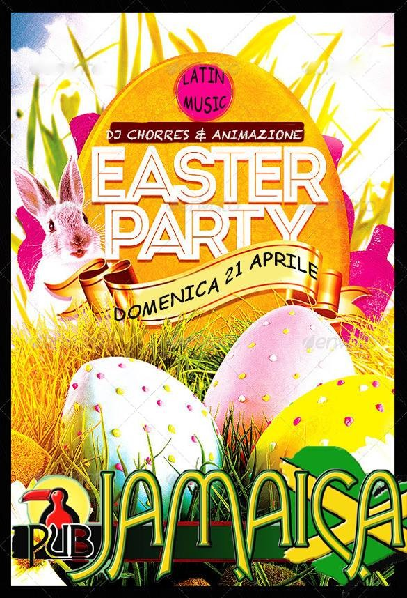 Easter party al Jamaica