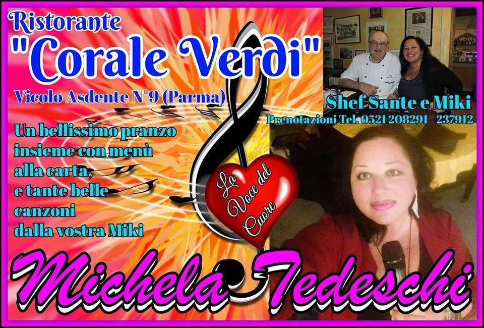 25 aprile al ristorante Corale Verdi con la musica di Michela Tedeschi