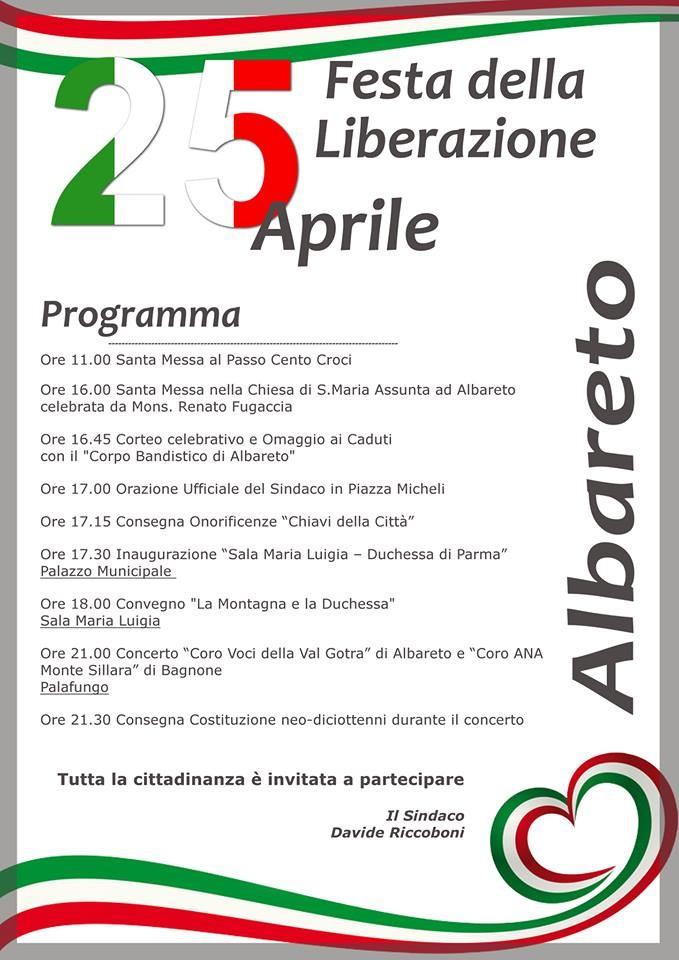 25 aprile ad Albareto