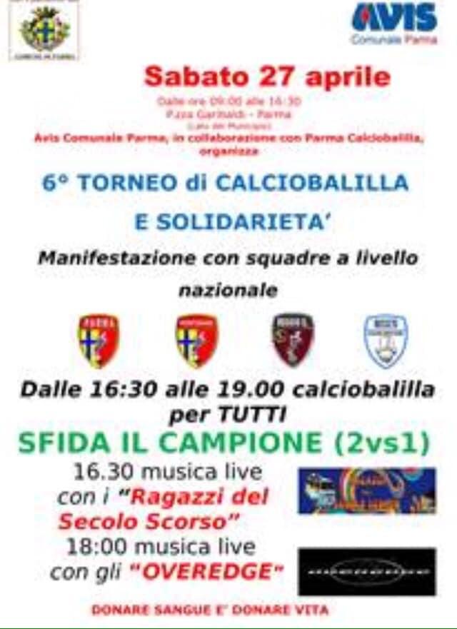 """""""Torneo di calciobalilla e solidarietà"""