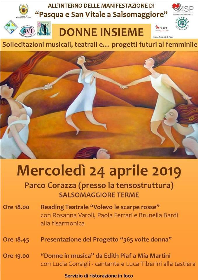 Eventi di Pasqua e San Vitale a Salsomaggiore: donne insieme