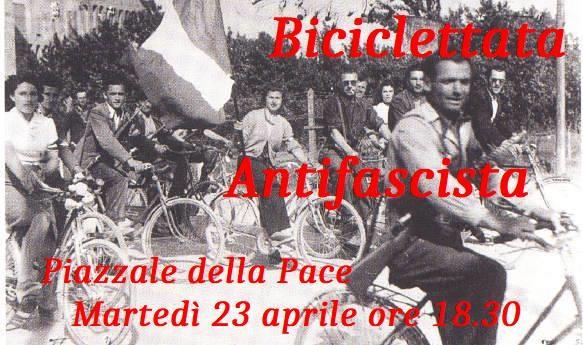 Biciclettata Antifascista a Parma