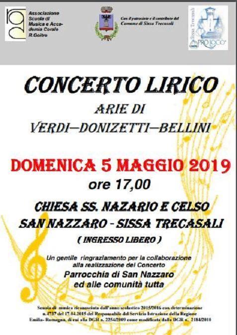 Concerto Lirico nella chiesa dei SS. Nazario e Celso