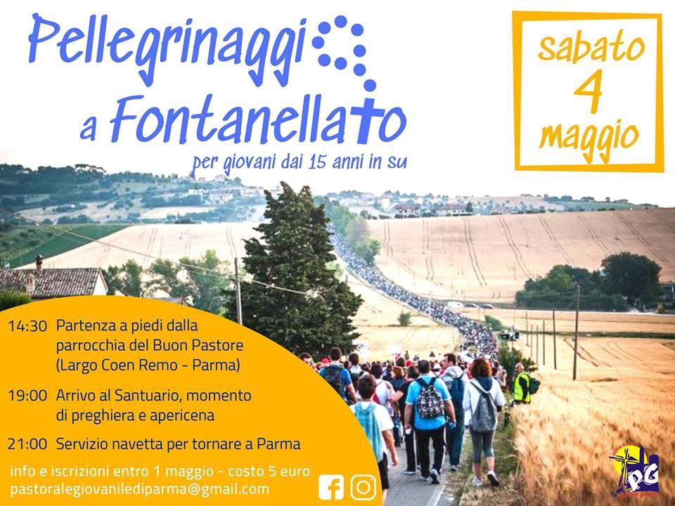 Pellegrinaggio a Fontanellato per giovani dai 15 anni in su