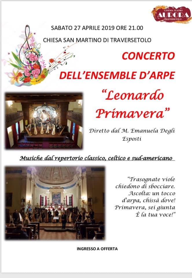 Concerto nella Chiesa Parrocchiale di Traversetolo.