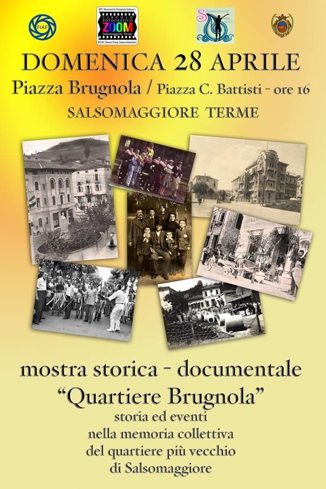 """Mostra storica del quartiere Brugnola """"il più vecchio di Salso"""""""
