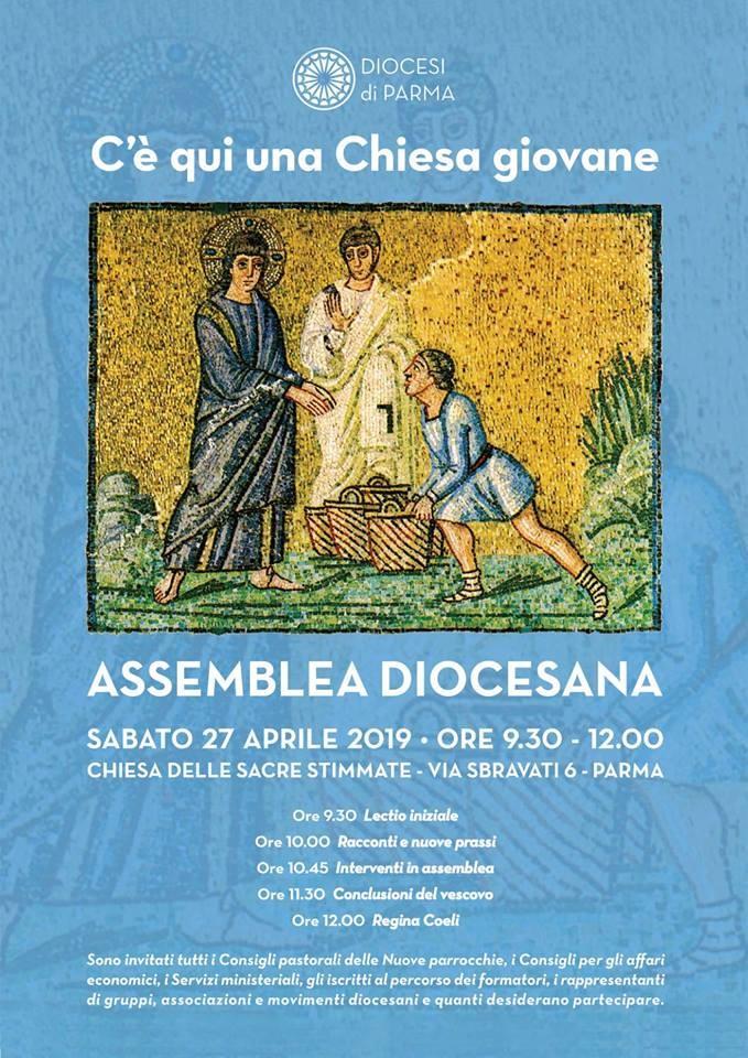 Assemblea diocesiana il 27 a Parma