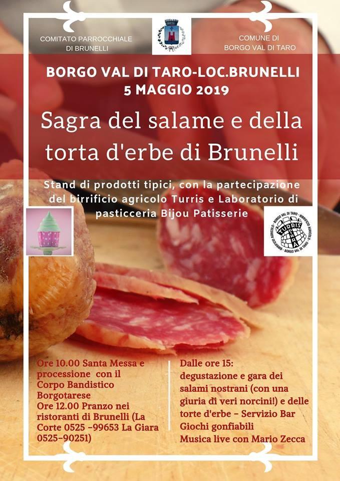 Sagra  del salame e della torta d'erbe di Brunelli