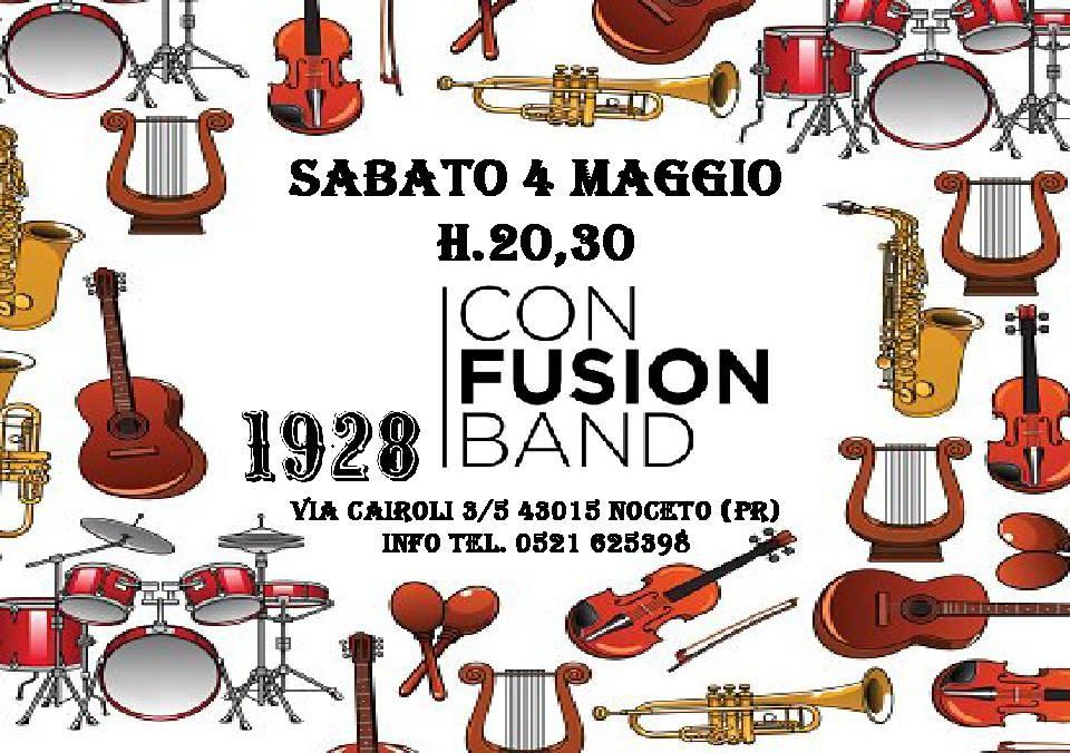 Con Fusion Band al 19.28 pub gourmet