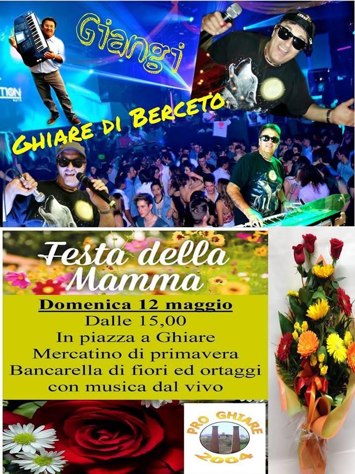 FESTA DELLA MAMMA a GHIARE DI BERCETO