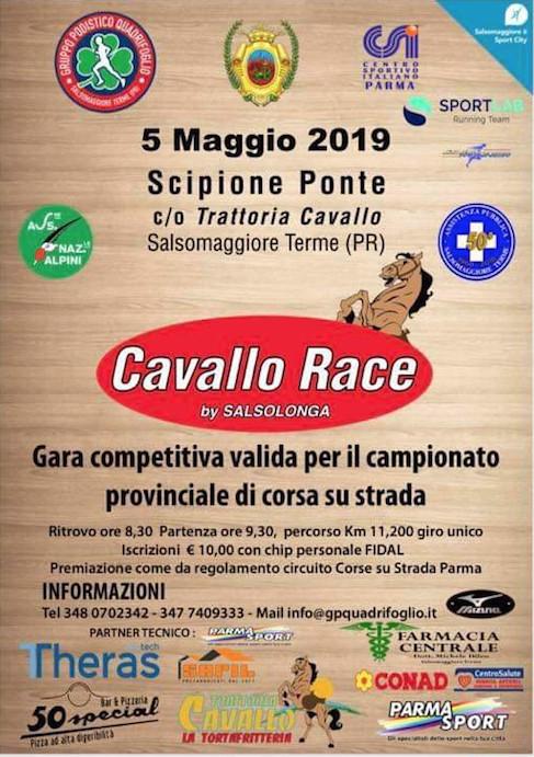 2^ Cavallo Race - Gara podistica  competitiva