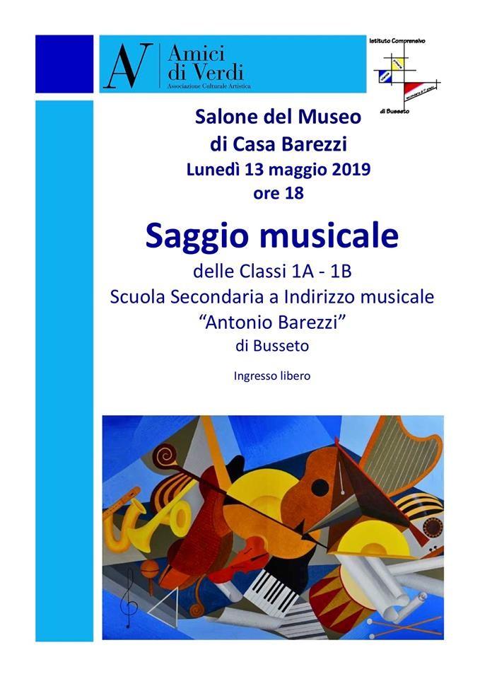 SAGGIO MUSICALE al Museo  Casa Barezzi