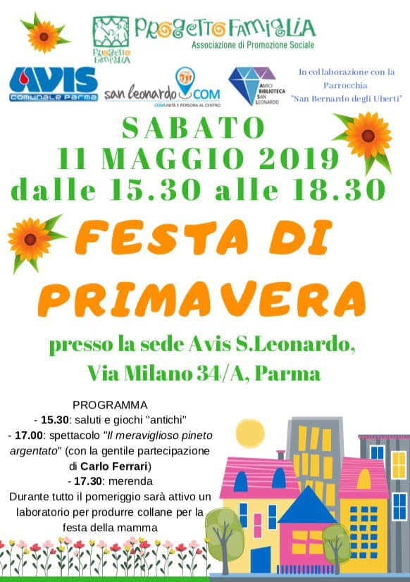 Festa di primavera all'Avis S.Leonardo