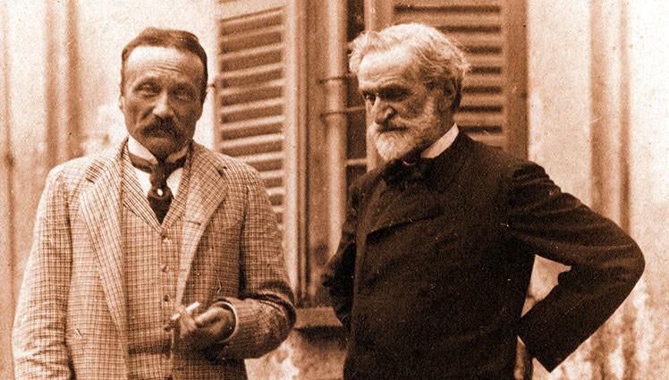 """Nuove carte di Arrigo Boito donate da Andrea Carandini al Conservatorio di musica """"A. Boito"""""""