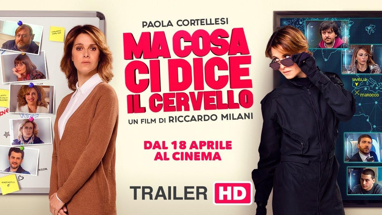 """""""MA COSA CI DICE IL CERVELLO"""" al Cinema Cristallo"""