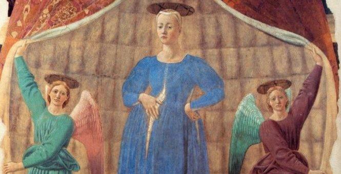 """Divino e Umano nella """"Madonna del parto"""" di Piero della Francesca"""